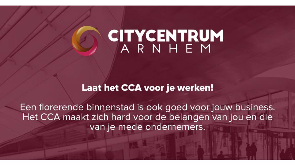 Laat het CCA voor je werken!